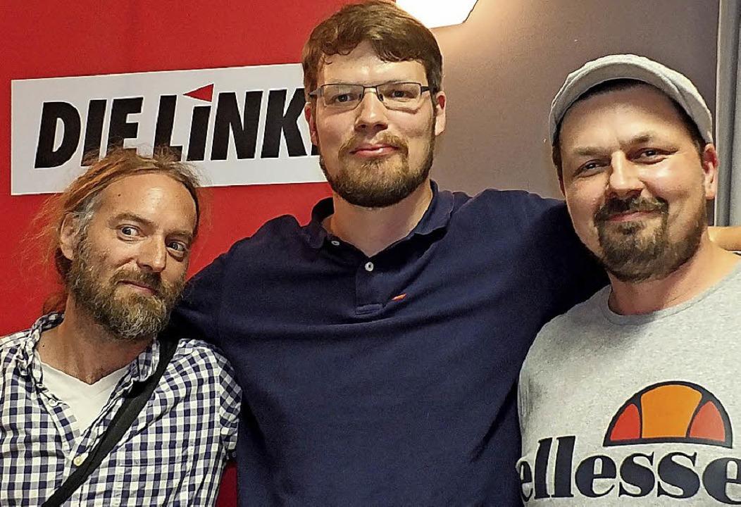 Dirk Spöri, Philipp Lotter und Gregor Mohlberg (von links)     Foto: Martina David-Wenk