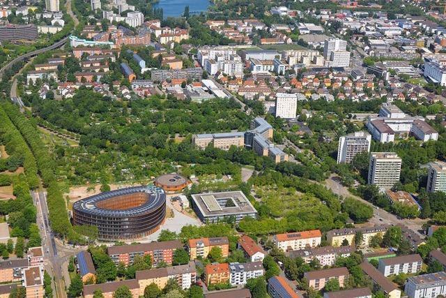 Ein Stück Sundgauallee in Freiburg soll für neue Wohnungen weichen