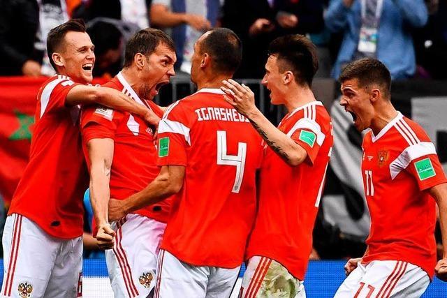 Russland gewinnt Eröffnungsspiel gegen Saudi-Arabien mit 5:0