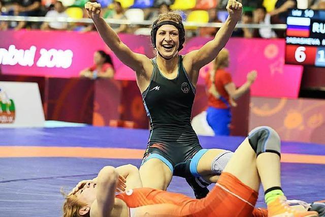 Die 19-jährige Ellen Riesterer gewinnt Bronze bei der U-23-EM