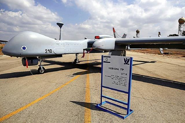 Israelische Drohnen für die Bundeswehr