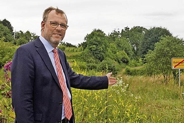 Ortsrundgang mit dem amtierenden Bahlinger Bürgermeister Harald Lotis