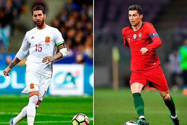 Ramos und Ronaldo: Wenn aus Teamkollegen Gegner werden