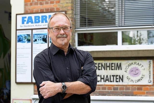 Fabrik-Geschäftsführer Martin Wiedermann: