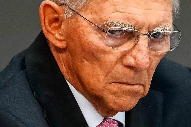Video: Schäuble rügt AfD-Fraktion nach Schweige-Aktion im Bundestag scharf