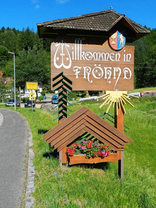 Die Gemeinde Fröhnd hat es beim Landes...r die Goldmedaillengewinner geschafft.  | Foto: Gerhard Wiezel