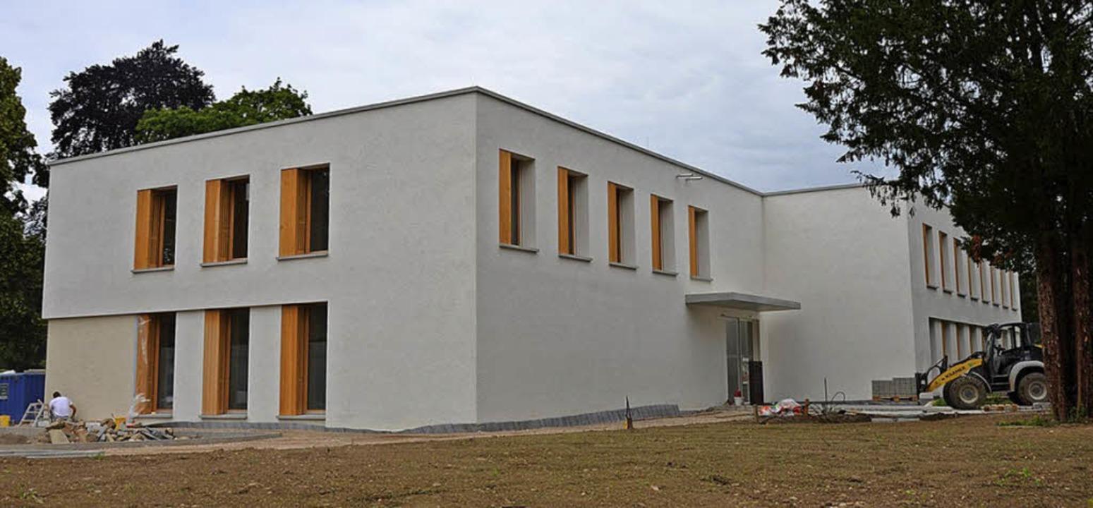 Neu und zeitgemäß: Bis auf die Dachdäm...ine künstlichen Materialien verwandt.   | Foto: anfe