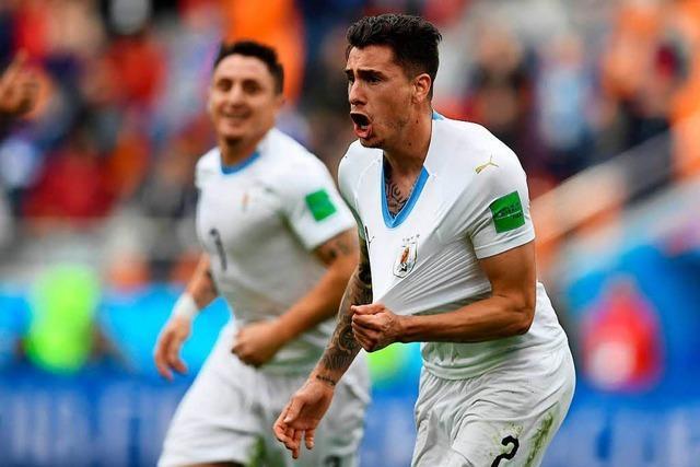Uruguay siegt dank Gimenez 1:0 gegen Ägypten