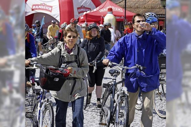 Slow-up Hochrhein sorgt am Sonntag, 17. Juni, von 10 bis 17 Uhr für autofreie Straßen