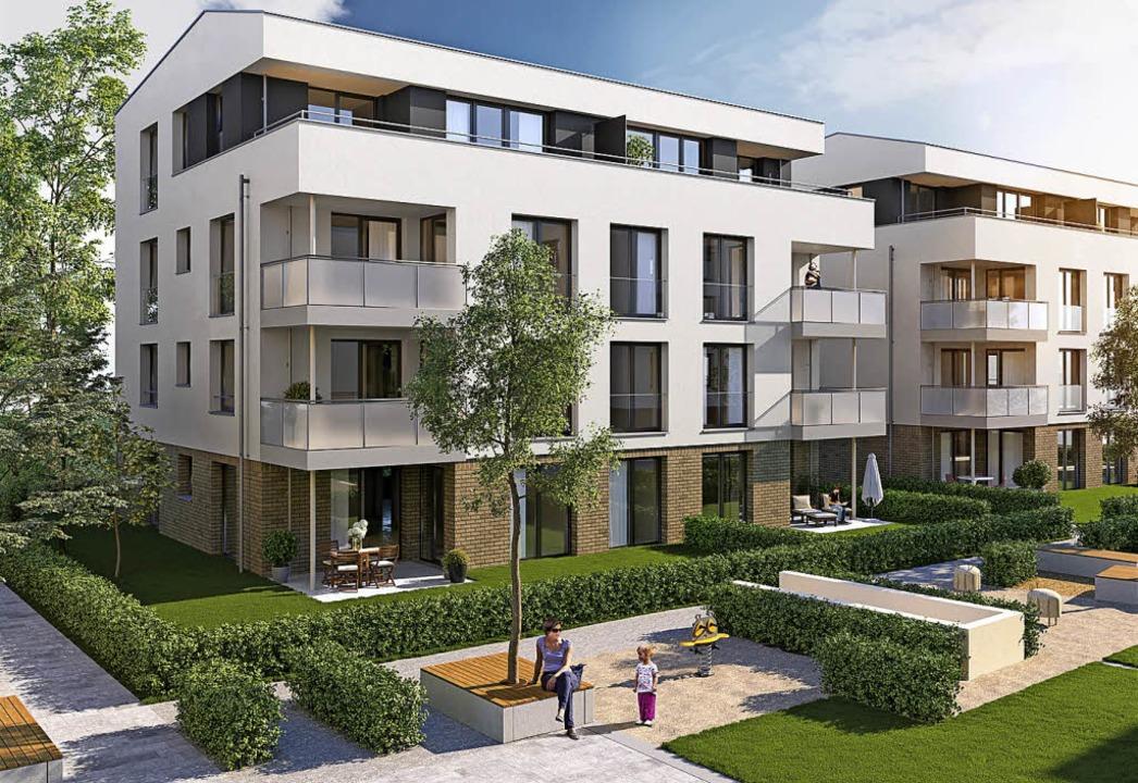 Hausbeispiel von Siedlungswerk Wohnung... für Bebauung Wasengärtle I Schliengen  | Foto: Schiedlungswerk