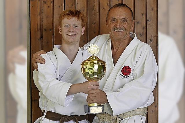 Weiterer Sieg für Breisacher Karateka Marius Werz