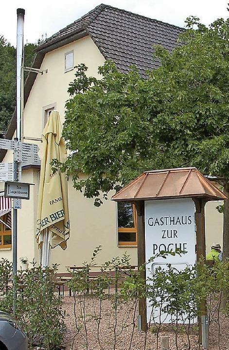 Das Gasthaus Zur Poche wird wieder geschlossen.   | Foto: W. Beck