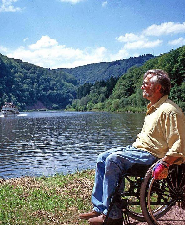 Der Rollstuhl soll kein Hindernis bei Reisen sein.     Foto: Tourismuszentrale Saarland