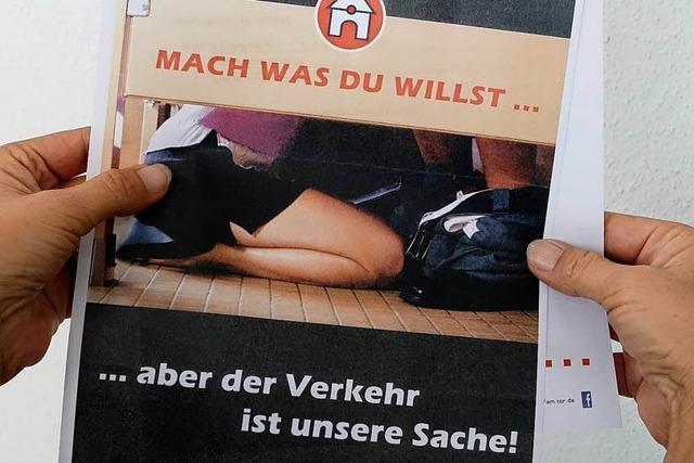 Freiburger Fahrschule buhlt mit schlüpfrigen Rechnungen um Aufmerksamkeit