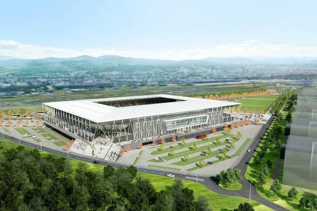 Die Spiegelvariante fürs SC-Stadion taugt nicht als Alternative zum beschlossenen Standort