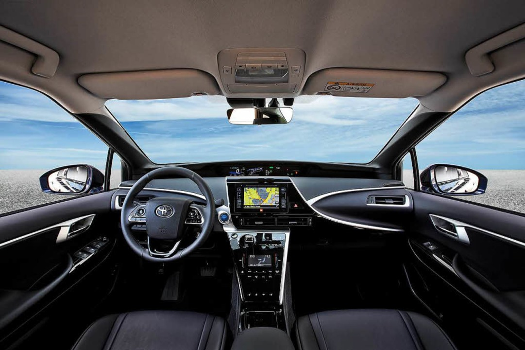 Interieur im Techno-Look     Foto: Toyota