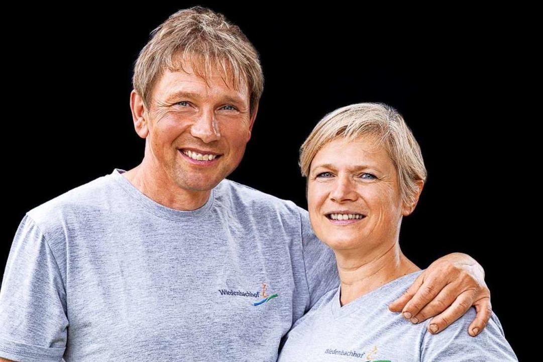 Haben sich mit ihrem Öko-Hof ihren Leb...r und Monika Wehrle vom Wiedenbachhof.  | Foto: Michael Wissing