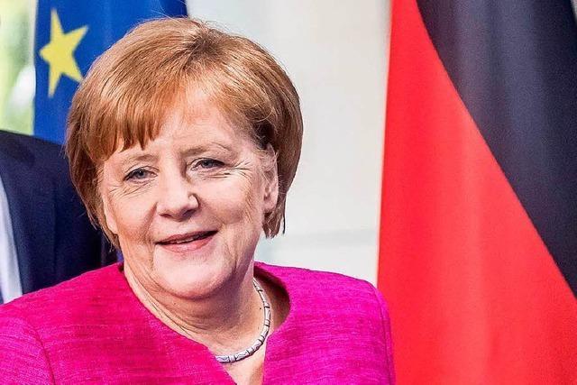 Merkel bekräftigt Bedeutung europäischer Antwort im Asylstreit