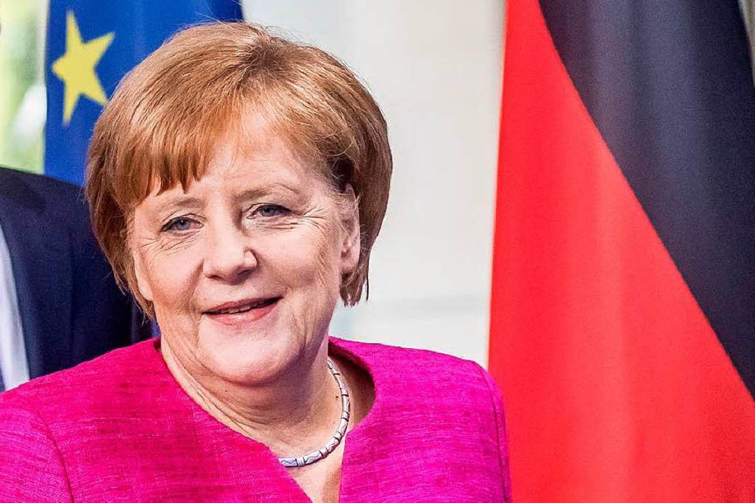 Angela Merkel    Foto: dpa