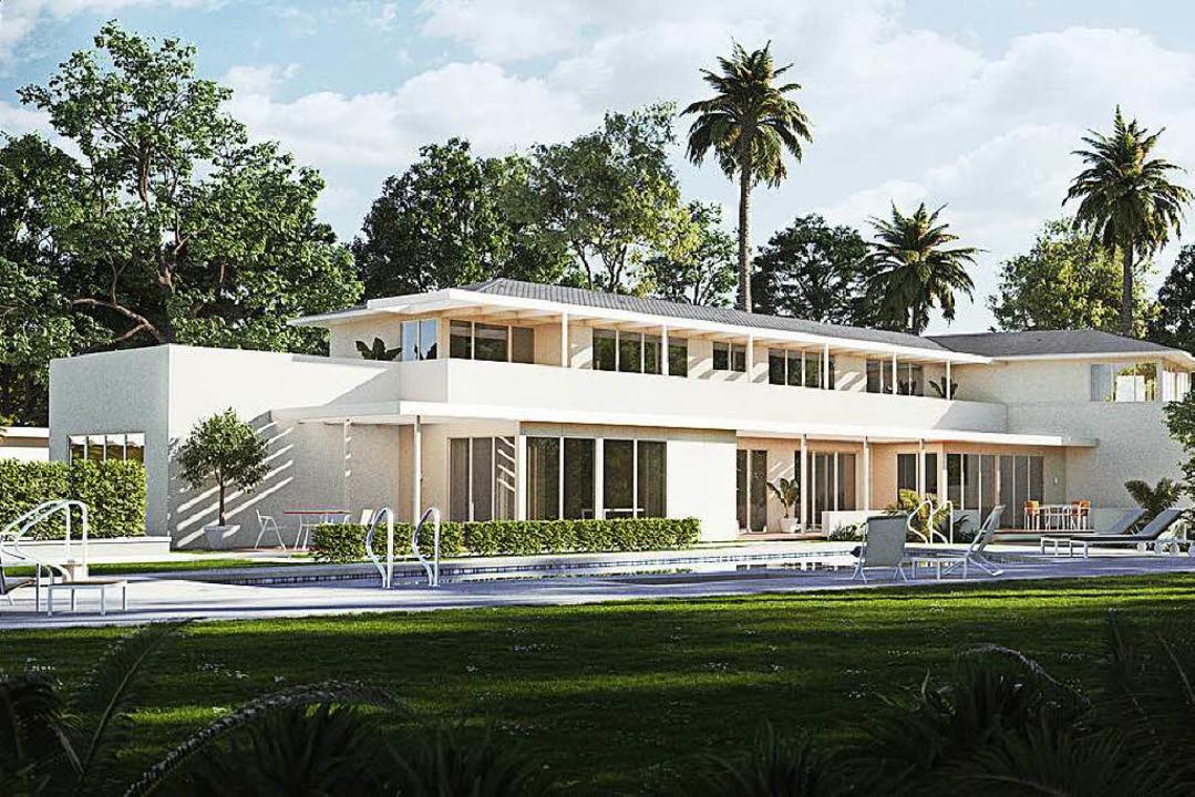 So soll das Thomas-Mann-Haus in Los Angeles nach der Renovierung aussehen.  | Foto: Computersimulation