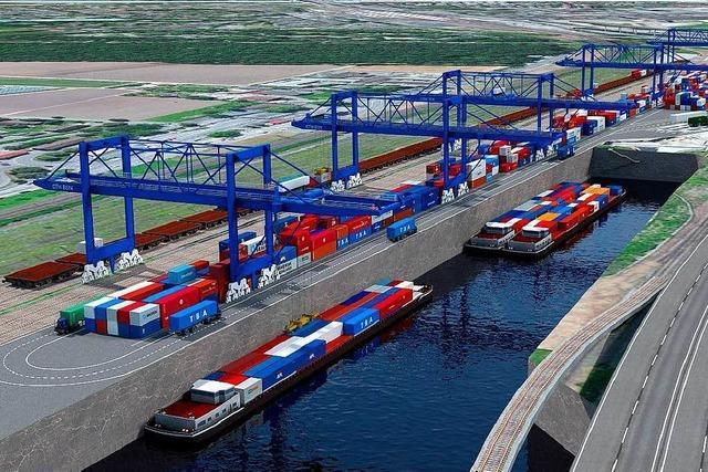Weiler unterzeichnen Petition gegen neuen Containerhafen