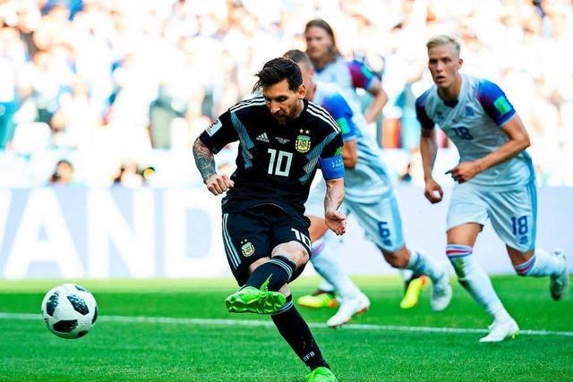 Tragischer Messi: WM-Auftakt nach verschossenem Elfmeter verpatzt