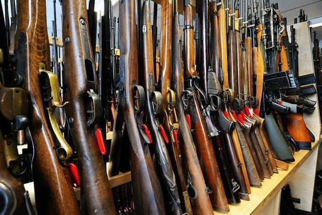 Noch bis Juli können illegale Waffen bei der Polizei abgegeben werden