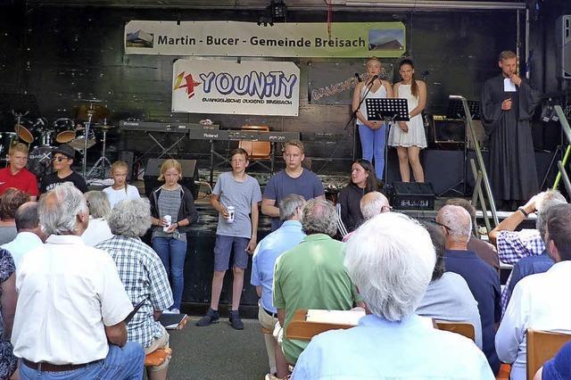 Martin-Bucer-Gemeinde feierte Jubiläum