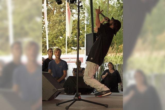HipHop-Open-Air im Vacono-Dome: Musik, um sich Luft zu machen