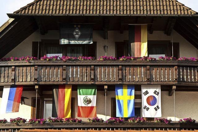 Flagge zeigen zur Fußball-WM