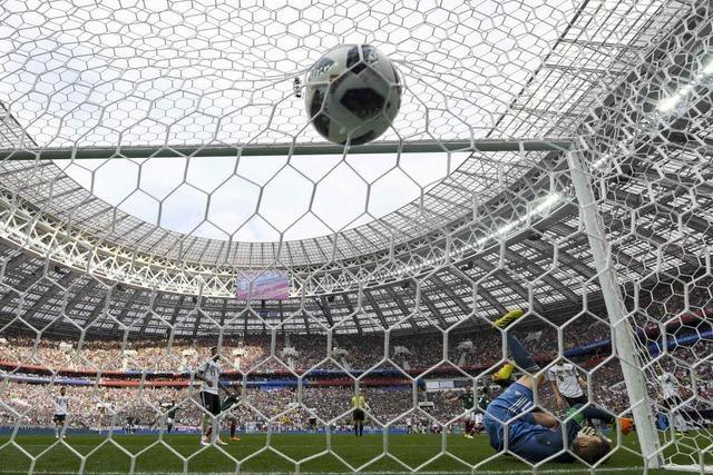 Fehlstart von Weltmeister Deutschland