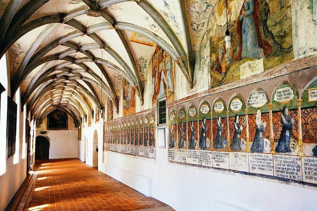Mittealter hautnah: der Kreuzgang im Kloster Heiligkreuztal  | Foto: © Kloster Heiligkreuztal