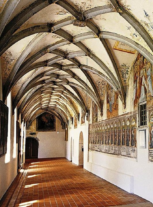Mittealter hautnah: der Kreuzgang im Kloster Heiligkreuztal    Foto: © Kloster Heiligkreuztal