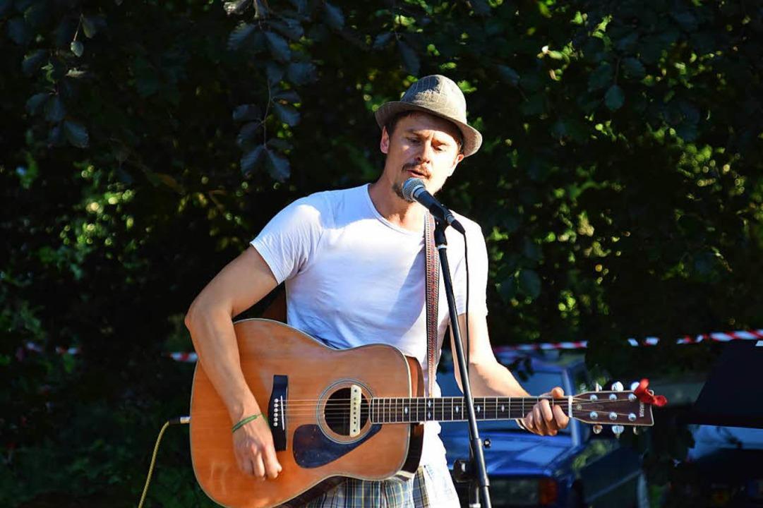 Ben Meech hat das neue Festival in Tegernau-Schwand organisiert.  | Foto: Stefan Ammann