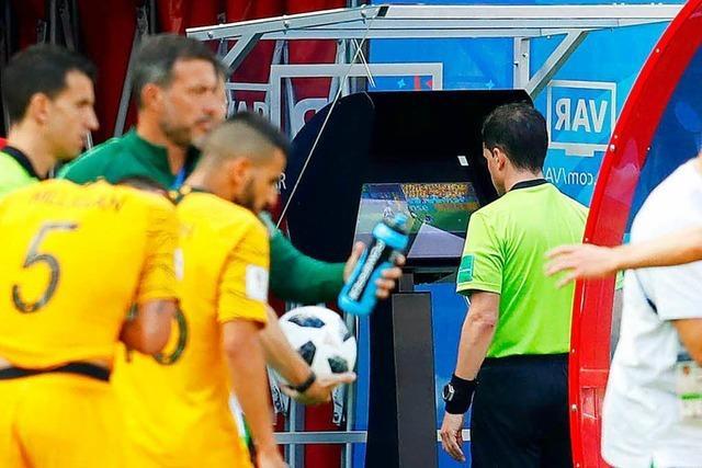 Videobeweis gibt seinen Einstand bei der Fußball-WM