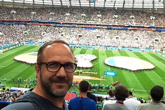 So erlebt BZ-Reporter René Kübler die WM in Russland