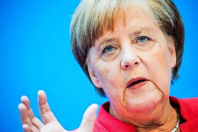 Merkel glaubt an ihre Chance