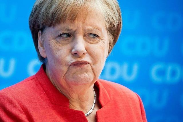 Angela Merkel: die geschwächte Kanzlerin