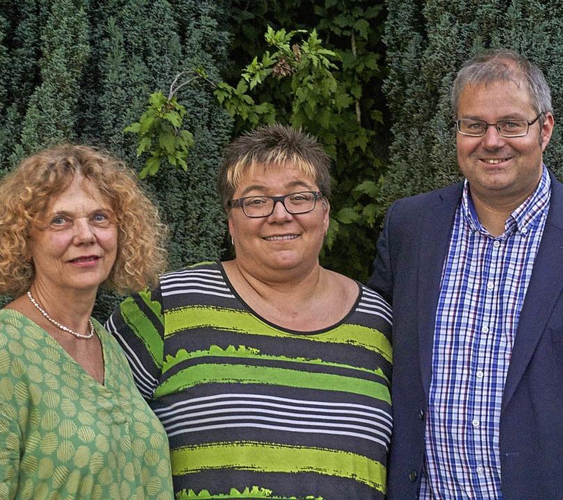 Langes Engagement: Über Gratulationen ...er Guhl (25 Jahre, von links) freuen.   | Foto: Julia Becker