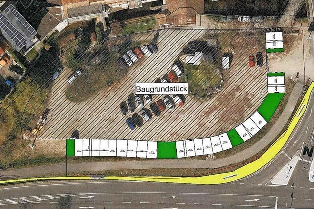 Neue Stellplätze für das Wohnquartier Mühlenrain