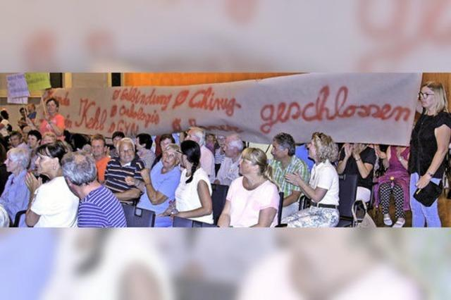 Große Proteste in Kehl gegen Klinik-Reform