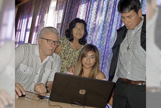 Perukreis pflegt eine neue Beziehung