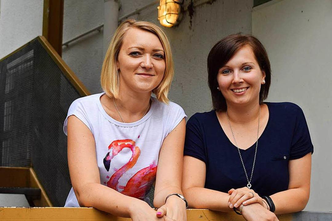 Tatjana Klauser (links) und Ann-Kathrin Herr  | Foto: Julia Trauden