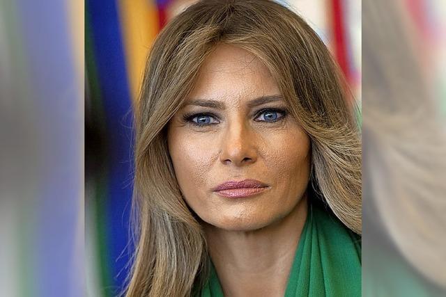 Melania Trump stellt sich gegen Ehemann