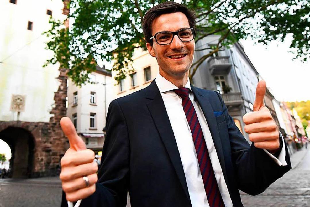 Alles neu? Von Martin Horn erhoffen si...hre Unterstützer einen Politikwechsel.  | Foto: dpa