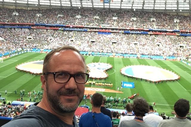 Unser WM-Reporter in Russland
