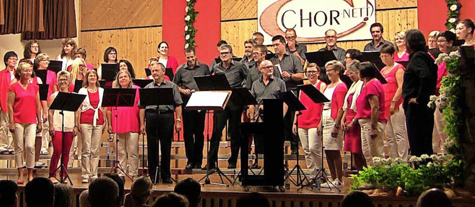 Begeistert war das Publikum vom Auftritt von Chor-nett.  | Foto: Privat