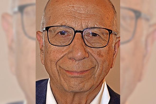 Peter Schneider ist seit 50 Jahren Mitglied der CDU