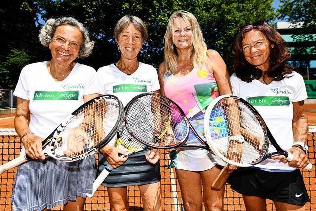 Tennisspielerinnen unter Top 3 Deutschlands – in der Altersklasse ab 65