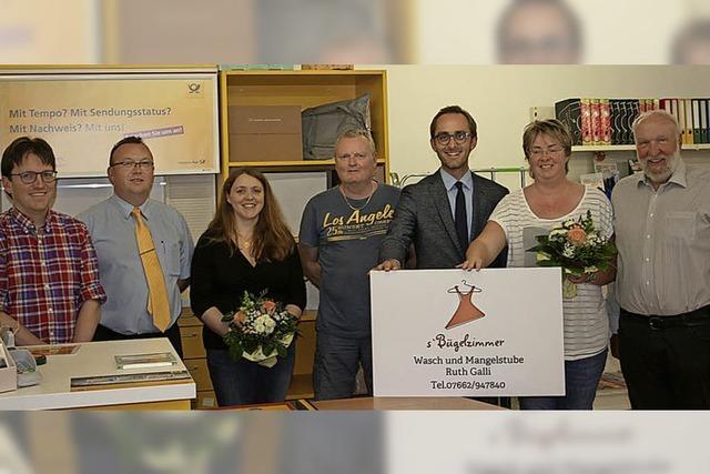 Postfiliale in Oberrotweil an neuem Standort